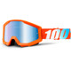 100% Strata Goggle orange-Mirror